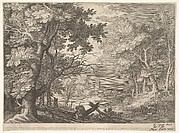 Woodland Scene, from Six Landscapes in Tyrol
