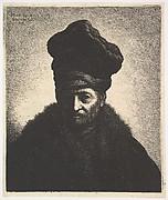 Portrait of a Man, after Rembrandt
