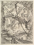 The Drawbridge, from Carceri d&#39;invenzione (Imaginary Prisons)