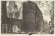 Veduta degli avanzi del Foro di Nerva, l'arcade et la muraille (The Forum of Augustus [erroneously called the Forum of Nerva])