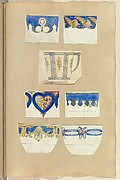 Seven Designs for Decorated Cups