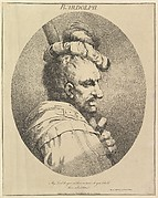 Bardolph (from Twelve Characters from Shakespeare)