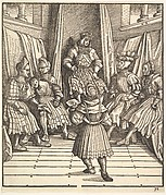 Illustration from The White King (Der Weiß König)