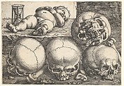 Dead Child with Four Skulls