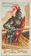 Knight's Lance, from the Arms of All Nations series (N3) for Allen & Ginter Cigarettes Brands