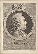 Portrait of Jean-Baptiste Le Blanc