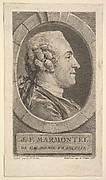 Portrait of Jean-Francoise Marmontel