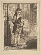 Décrotteur (Shoe Shiner), from Mes gens, ou Les commissionnaires ultramontains au service de qui veut le payer (Servants for Public Hire)