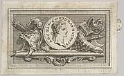 Medal with Portrait of Caligula in the 6th Book, from Tibère ou les six premiers livres es Annales de Tacite Traduits par M. l'abbé de la Bléterie Professeur d'Eloquence au Collège Royal et de l'Académie Royale des Inscriptions et Belles-lettres. A Paris de l'Imprimerie Royale