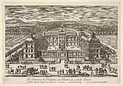Le Château de Richelieu en Poictou du Côté de l'Entrée