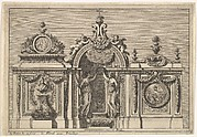 Design for a Tabernacle with Two Variants, from: Tabernacles à l'italienne