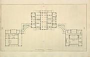 Houghton Hall, Norfolk, Ground Floor (Basement) Plan