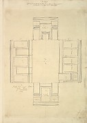 Treasury House, 10 Downing Street, London: Plan of the First-floor Parlor (Northeast Corner Room)