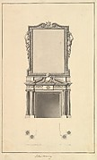 Salon Chimney, Houghton Hall, Norfolk, Elevation
