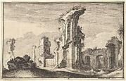 Ruins of Santa Croce in Gerusalemme