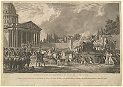 Translation de Voltaire au Panthéon Français