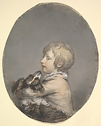 William Evelyn of St Clere, Kent, Holding a Spaniel