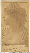 Gillet, Opera Comique, from the Actors and Actresses series (N45, Type 1) for Virginia Brights Cigarettes