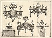 Designs for Brackets with Silverwork