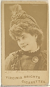 Card 295, Daisy Murdoch, from the Actors and Actresses series (N45, Type 1) for Virginia Brights Cigarettes