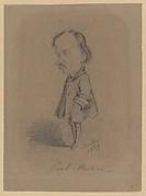 Caricature of Paul Meurice