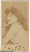 Card 704, from the Actors and Actresses series (N45, Type 5) for Virginia Brights Cigarettes