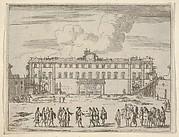 Francesco I d'Este Builds the Palazzo di Sassuolo, from L'Idea di un Principe ed Eroe Cristiano in Francesco I d'Este, di Modena e Reggio Duca VIII [...]