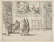 Francesco I d'Este Displays Great Faculty in his Studies, from L'Idea di un Principe ed Eroe Cristiano in Francesco I d'Este, di Modena e Reggio Duca VIII [...]