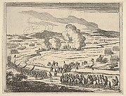 The Seige of Alessandria Begins, from L'Idea di un Principe ed Eroe Cristiano in Francesco I d'Este, di Modena e Reggio Duca VIII [...]