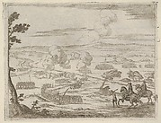 After a Long March, Francesco I d'Este Passes with the River of Cassano with his Army, thus Causing Great Harm to the Spanish, from L'Idea di un Principe ed Eroe Cristiano in Francesco I d'Este, di Modena e Reggio Duca VIII [...]