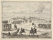 After a Long Seige, Francesco I d'Este, with the Aid of the French Army, Takes Valencia, from L'Idea di un Principe ed Eroe Cristiano in Francesco I d'Este, di Modena e Reggio Duca VIII [...]