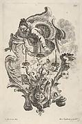 Sconce Representing Winter, from 'Wand-Leuchter die 4 Jahrseiten vorstellend'