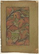 Sassafras leaves (for Sassafras Linen Press)