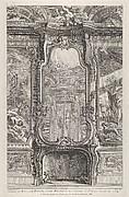 Cabinet de Mr le Compte Bielinski, from 'Oeuvres de Juste Aurelle Meissonnier'