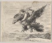 Jupiter and Ganymede, from 'Game of Mythology' (Jeu de la Mythologie)