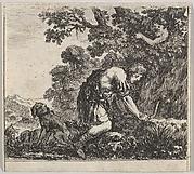 Narcissus, from 'Game of Mythology' (Jeu de la Mythologie)