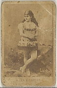 Larkell, from the Actors and Actresses series (N45, Type 7) for Dixie Cigarettes