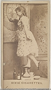 Lotta, from the Actors and Actresses series (N45, Type 7) for Dixie Cigarettes