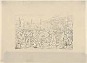 Battle in Baltimore, April 19, 1861 (from Confederate War Etchings)