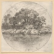 Landscape with Trees by the Water