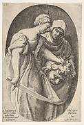 Judith with the Head of Holofernes, from Four Old Testament Subjects