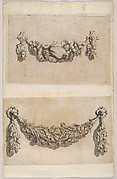 Design for a Garland from 'Various New Festoons, Part II' (Verscheide Nieuwe Festonnen, tweede deel)