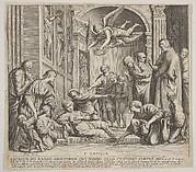 The death of St Cecilia
