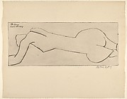 Nude with Long Torso