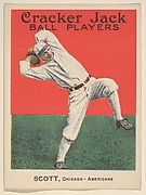 Scott, Chicago, American League, from the Ball Players series (E145) for Cracker Jack