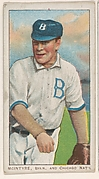 McIntyre, Brooklyn and Chicago, National League, from the White Border series (T206) for the American Tobacco Company