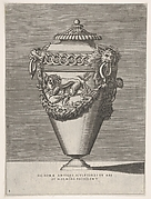 Design for a Vase decorated in the Manner of Ancient Rome