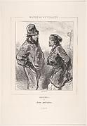 Sans profession, from the series Bohèmes, Masques et Visages