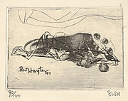 Augy's Foot (greeting card for 1940–41), Second Version