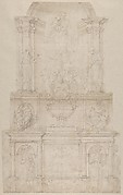 Design for the Tomb of Pope Julius II della Rovere